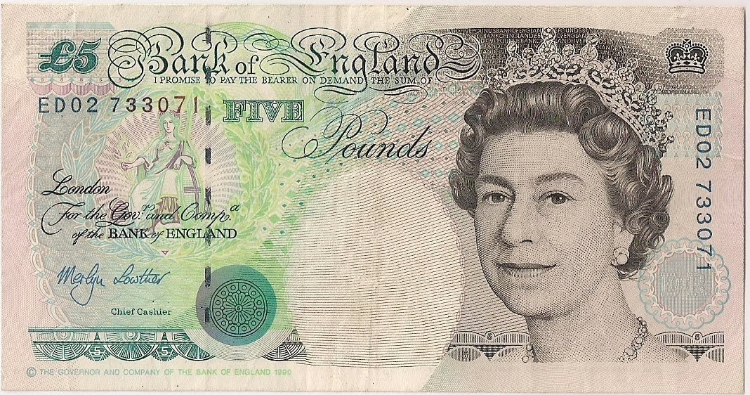 Pyowcollection Great Britain Bank Notes