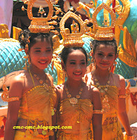 Young traditional dancers