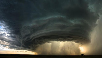 Supercell Thunderstorm in Montana