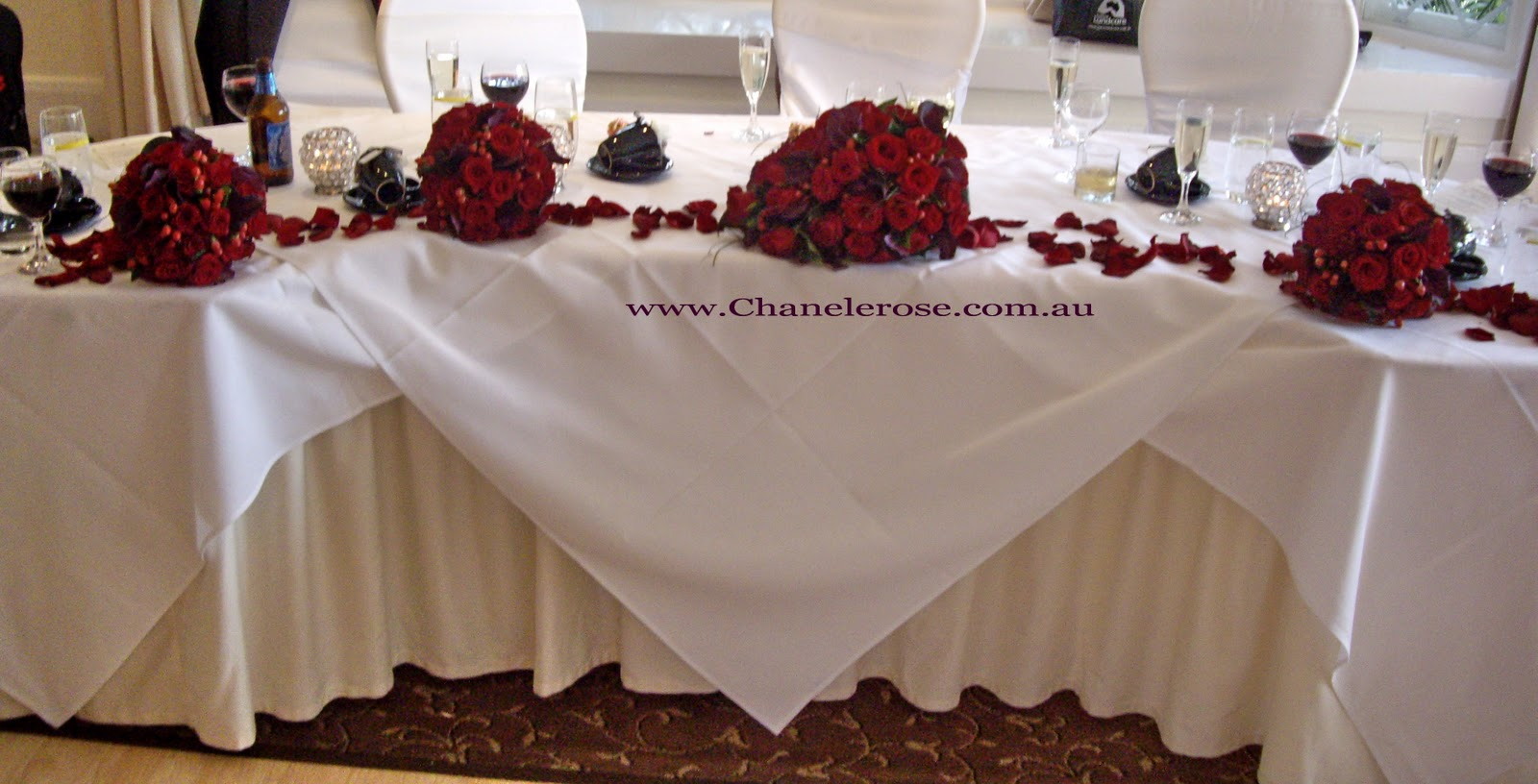 wedding chair covers sydney desk amazon prime chanele rose flowers blog stylist