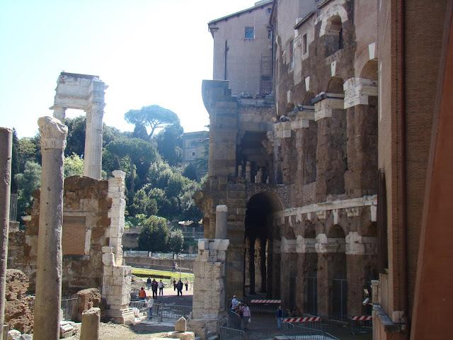 Teatro de Marcello, Barrio Judío, Roma, Elisa N, Blog de Viajes, Lifestyle, Travel
