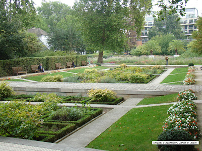 Le parc yitzhak rabin un jardin paisible paris blog d for Jardin yitzhak rabin