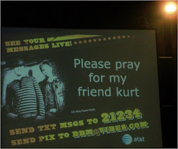 Prayers for Kurt @ Christian Concert