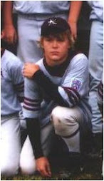 Kurt in Baseball Uniform