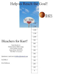 Bleachers for Kurt!