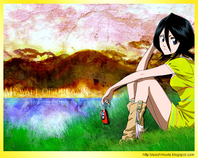 Rukia Kuchiki Bleach Wallpaper