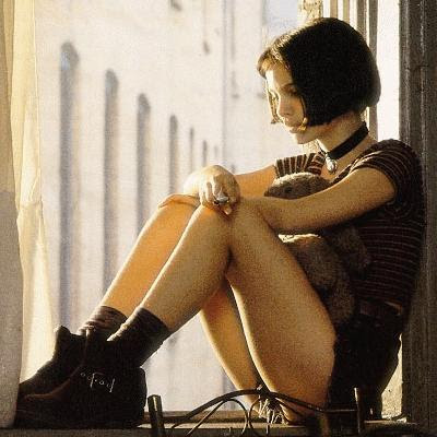 Natalie Portman In The Professional. Natalie