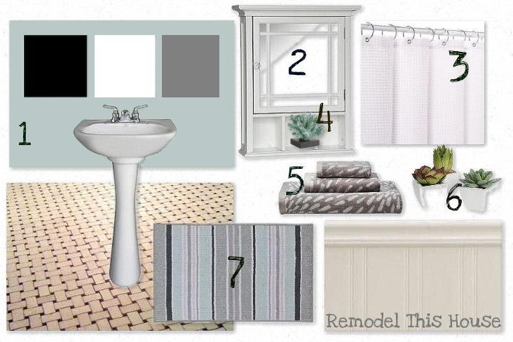 Remodel This House Rth Answers Small Bath Mood Board
