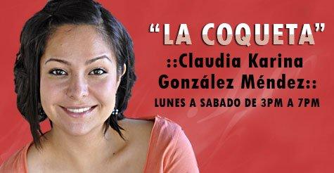 Latinomaniavs Claudia Karina González La K Buena Los Angeles California