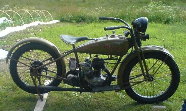 Fast Is Fast Pea Shooter Harleys: Motor Classic: Stolen , Harley-Davidson 1926 350 Peashooter