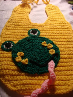 crochet bib for babies