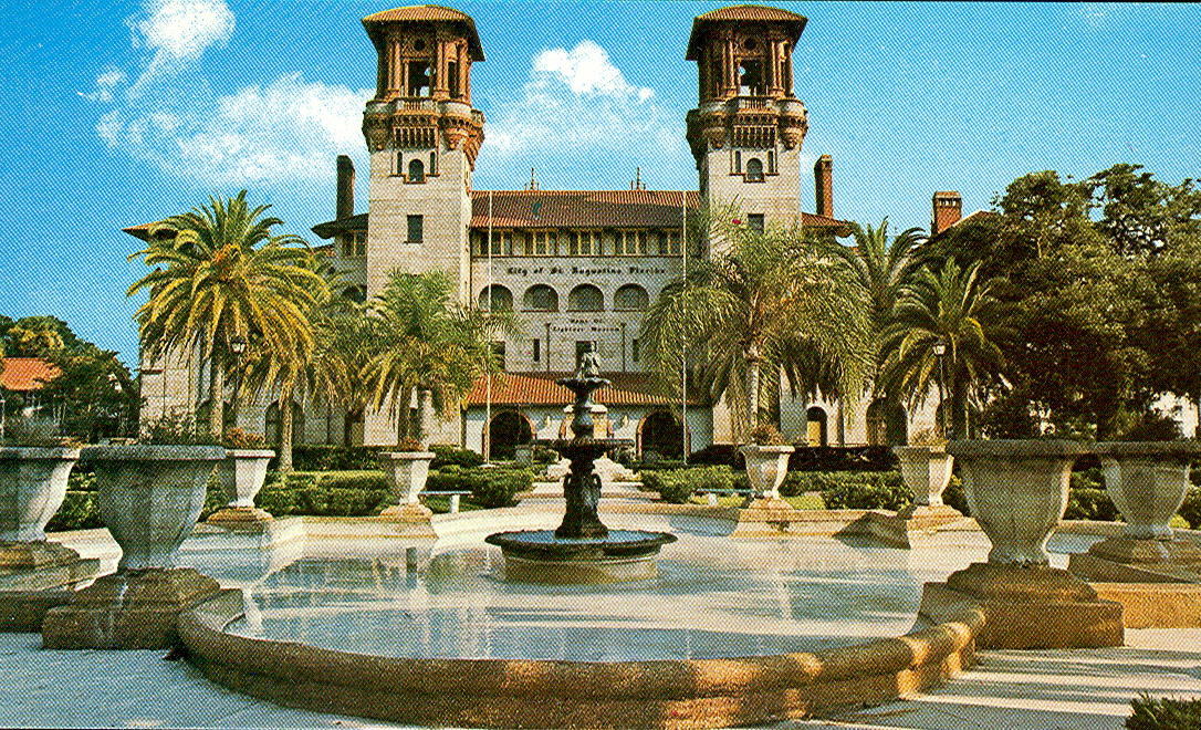 collection st augustine fl vintage travel postcards st augustine florida
