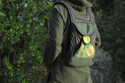 Black Parachute Backpack