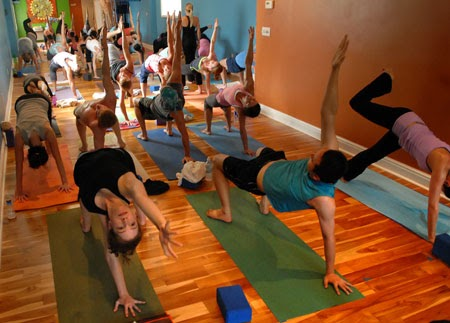 Spas of Life  Healthy Living  Travel Hot yoga gets