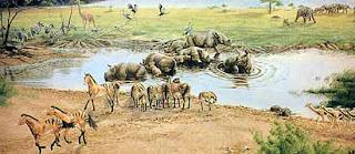 The Ashfall Fossil Bed State Historic Park in Nebraska