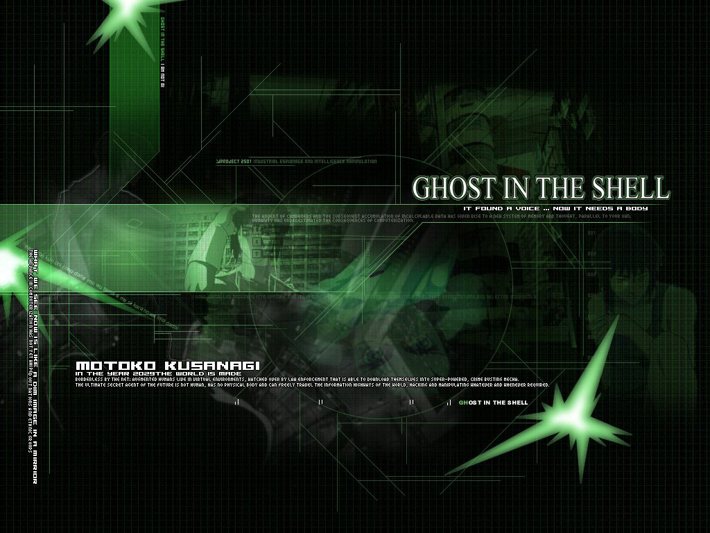 Wallpapers Photo Art: Ghost In The Shell Wallpapers