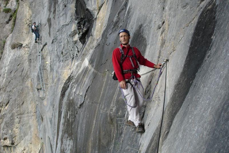 Klettersteig Allmenalp : Alpensommer klettersteig u evia ferrata allmenalpu c