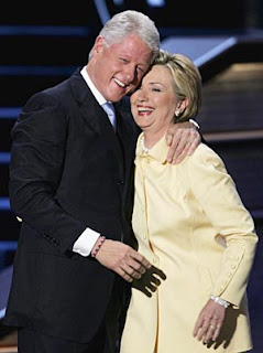 Hillary Clinton and Bill Clinton