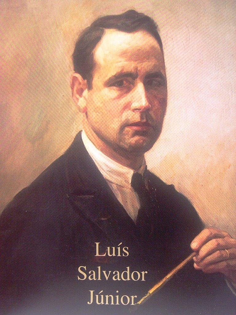 MESTRE LUIZ SALVADOR J.OR, 70 ANOS DEDICADOS Á PINTURA
