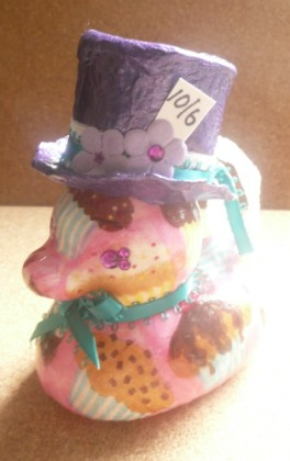 Carmen Wing - Whoopidooings - Altered Rubber Duck - Mad Hatter