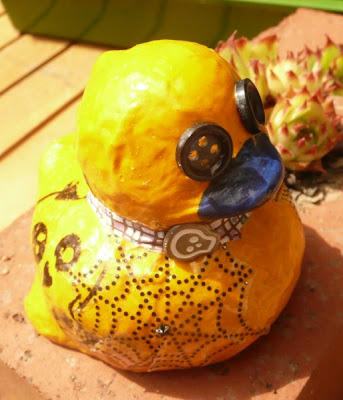 Carmen Wing - Whoopidooings - Altered Rubber Duck - Coraline