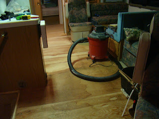 Our Rv Experience Replacing Old Carpet With Flooring In