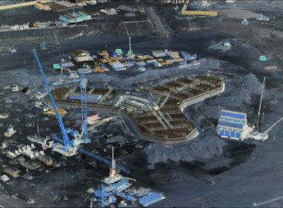 Raft Foundation System of Burj khalifa