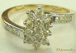 Diamond Ring, Diamond Ladies Ring, Diamond Jewelry