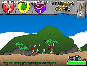 Caveman Craig - Free PC Gamers - Free PC Games