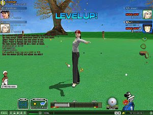 Shot Online free golf MMO game