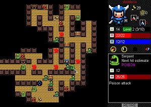 Desktop Dungeons free arcade PC game