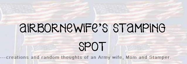 airbornewife's stamping spot