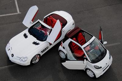 Brabus SLR McLaren Roadster and Smart Fortwo Ultimate 112.jpg