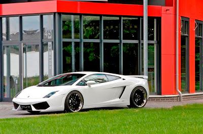 Lamborghini Gallardo hot