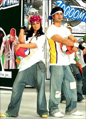 Shahid Kapoor and Ayesha Takia