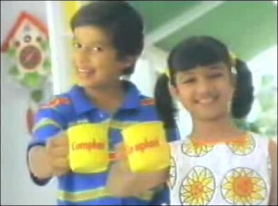 Complan Boy and Complan Girl Shahid Kapoor and Ayesha Takia
