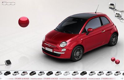 Customize Fiat 500