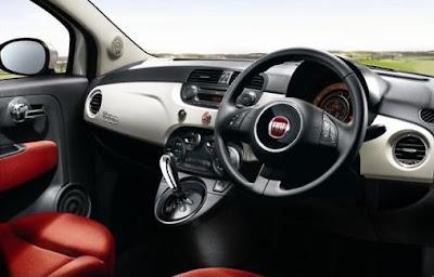 Fiat 500 Right Hand Drive Interior