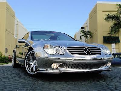 Renntech Mercedes SL600 Chrome