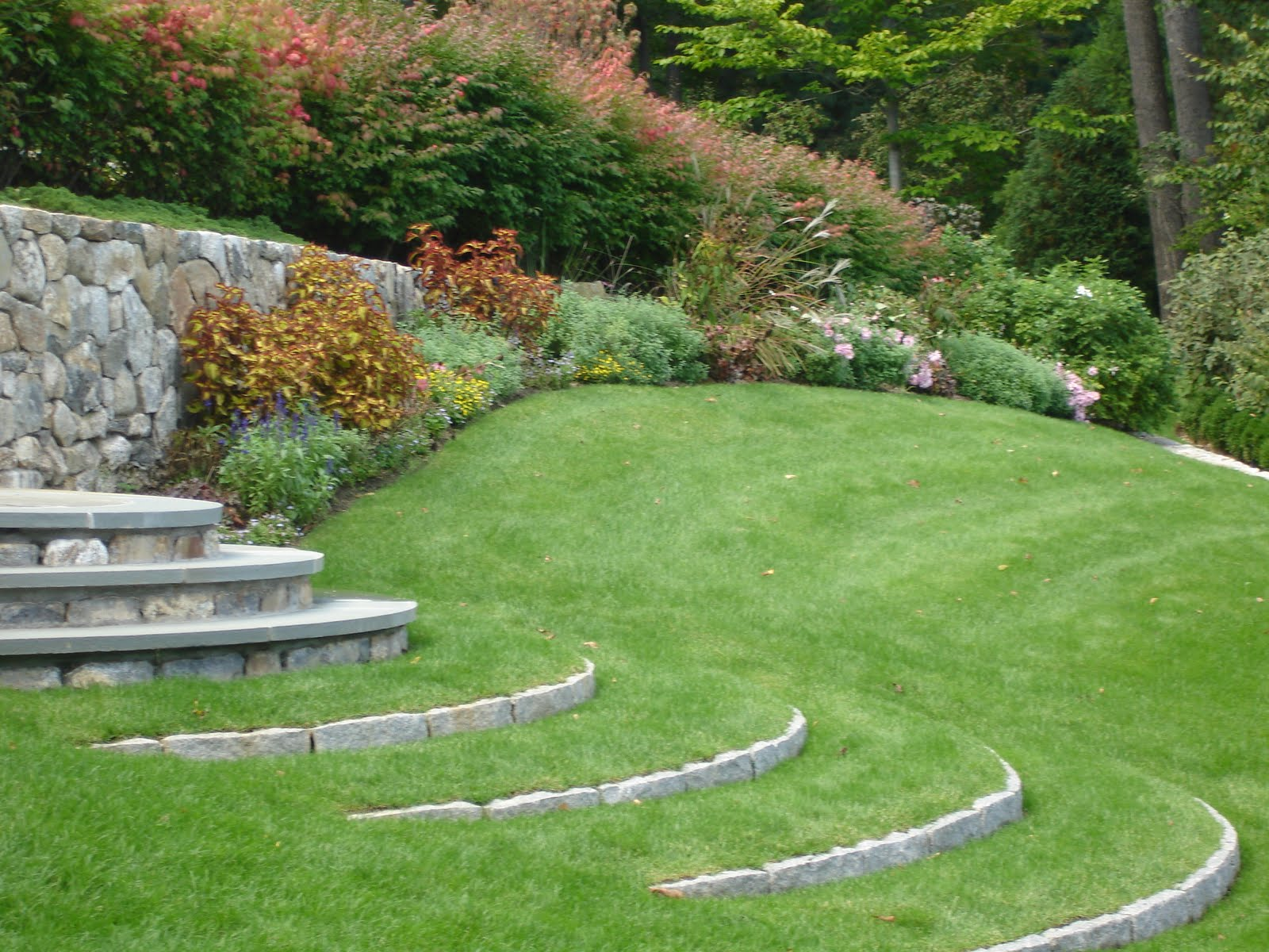 Grass steps my signature dish part one for How to landscape a garden