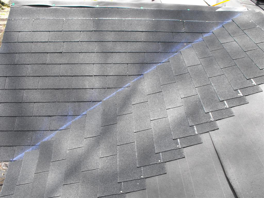 Aycock Morgan House Shingling The Front Porch Roof