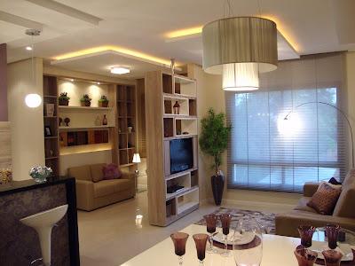 Apartamentos decorados for Salas de apartamentos modernos