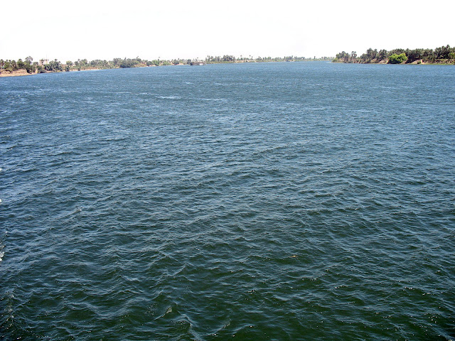 river nile vast expanse