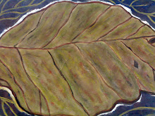 PAINTING... leaves....