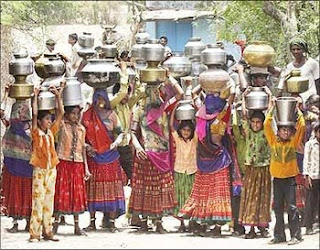The water crisis in India
