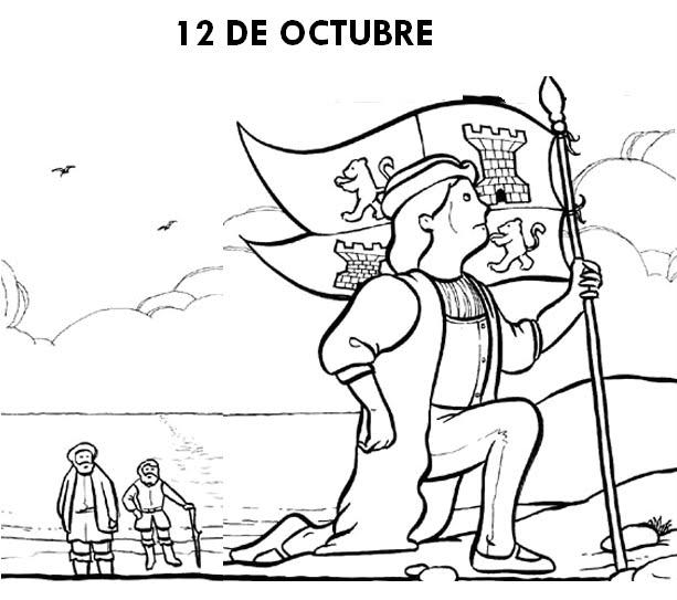 12 de Octubre: Imagenes para Colorear - Secretos Marlove