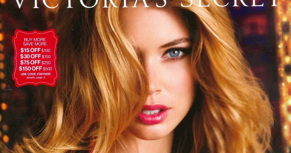 e2441f00a9 My Fashion Insider  Victoria s Secret Christmas Catalog Covers - Doutzen  Kroes