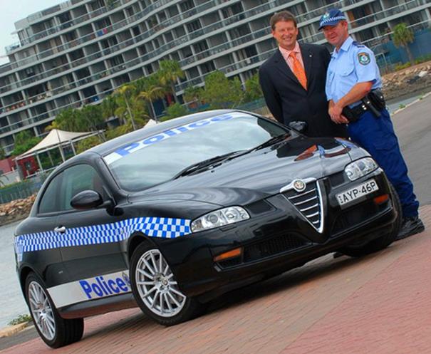 Los mejores autos de policia