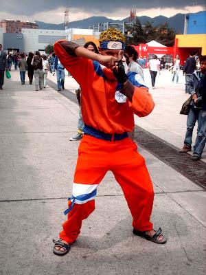 Naruto Cosplay Feria del Libro