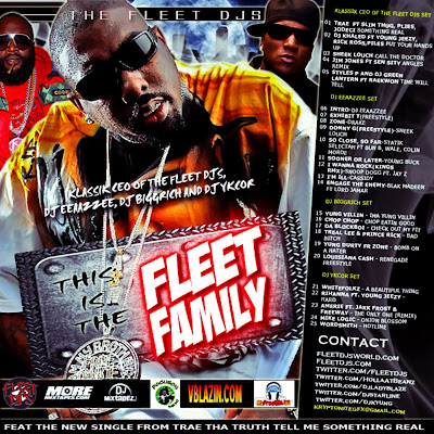FLEET+FAMILY+PRINT THE FLEET DJS PRESENT THIS IS THE FLEET FAMILY WITH KLASSIK CEO OF THE FLEET DJS, DJ EEAAZZEE, DJ BIGGRICH AND DJ YKCOR